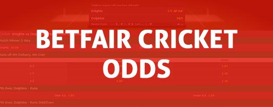 Betfair Cricket Odds