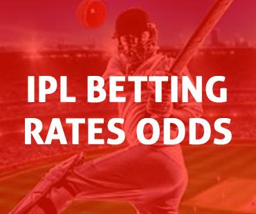 IPL Betting Rates Odds